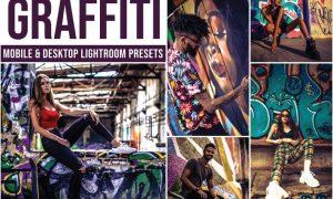 Graffiti Mobile and Desktop Lightroom Presets