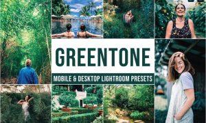 Greentone Mobile and Desktop Lightroom Presets