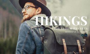 Hikings Mobile and Desktop Lightroom Presets