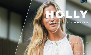 Holly Desktop and Mobile Lightroom Preset