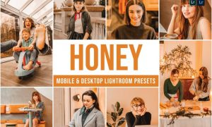 Honey Mobile and Desktop Lightroom Presets