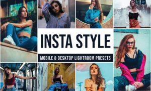 Insta Style Mobile and Desktop Lightroom Presets