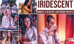 Iridescent Mobile and Desktop Lightroom Presets