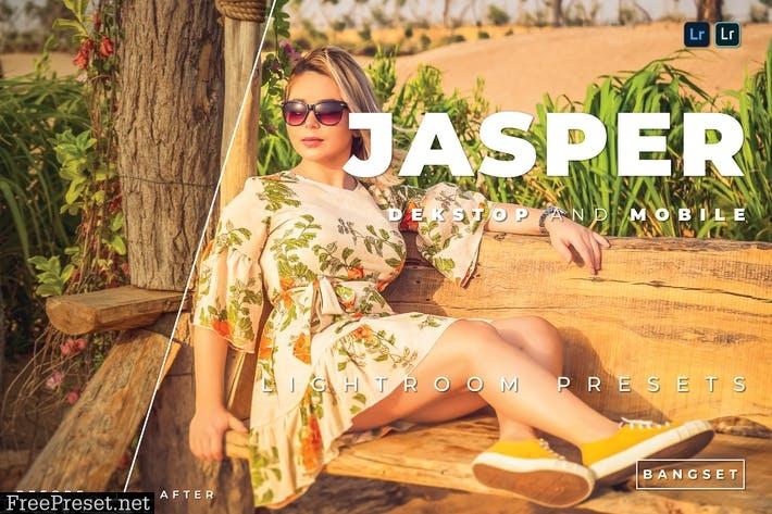 Jasper Desktop and Mobile Lightroom Preset
