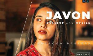 Javon Desktop and Mobile Lightroom Preset