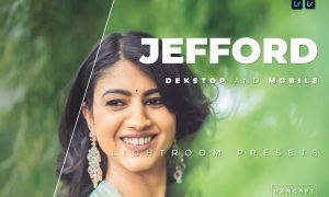 Jefford Desktop and Mobile Lightroom Preset