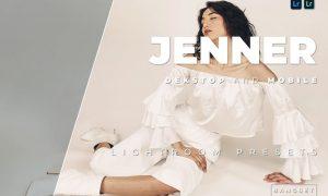 Jenner Desktop and Mobile Lightroom Preset