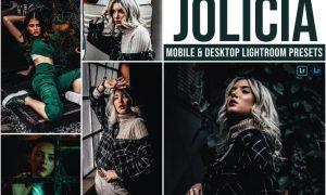Jolicia Mobile and Desktop Lightroom Presets
