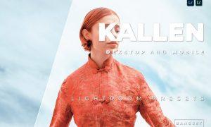 Kallen Desktop and Mobile Lightroom Preset