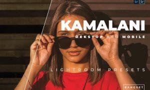 Kamalani Desktop and Mobile Lightroom Preset