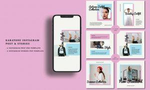 Karatone Instagram Post & Stories SAHZLXX