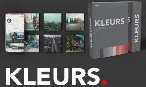 KLEURS CINEMATIC LR MOBILE PRESETS 5801464