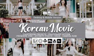 Korean Movie Lightroom Presets 5157301