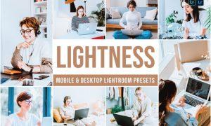 Lightness Mobile and Desktop Lightroom Presets