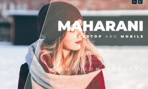 Maharani Desktop and Mobile Lightroom Preset