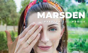 Marsden Desktop and Mobile Lightroom Preset