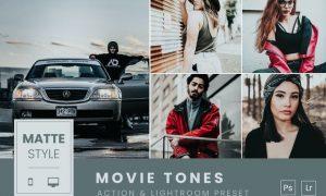 Matte Tones Action & Lightroom Preset