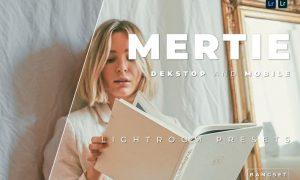 Mertie Desktop and Mobile Lightroom Preset