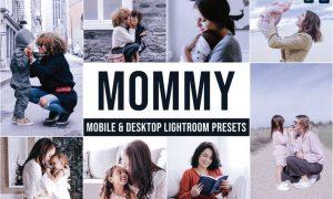 Mommy Mobile and Desktop Lightroom Presets