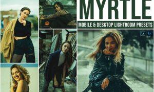 Myrtle Mobile and Desktop Lightroom Presets