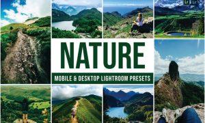 Nature Mobile and Desktop Lightroom Presets