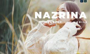 Nazrina Desktop and Mobile Lightroom Preset