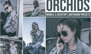 Orchids Mobile and Desktop Lightroom Presets