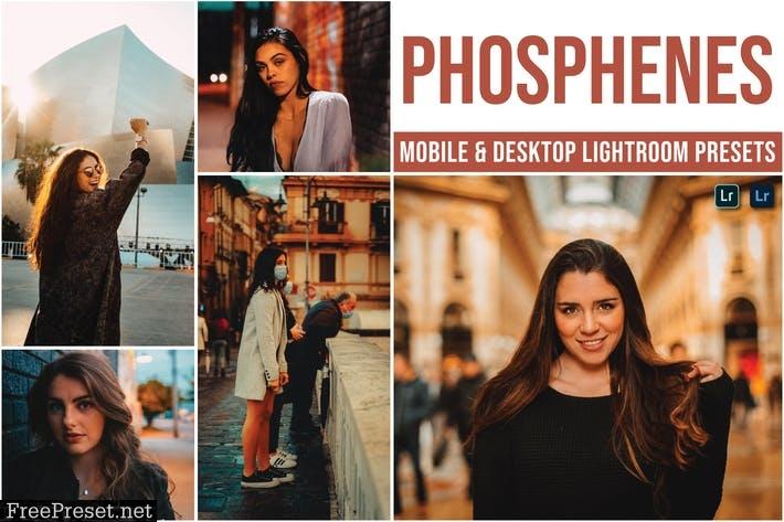 Phosphenes Mobile and Desktop Lightroom Presets