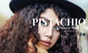 Pistachio Mobile and Desktop Lightroom Presets
