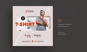 Promotional & Summer Sale Instagram Feed AD Banner JA2LB32