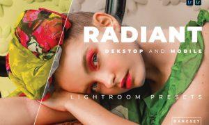 Radiant Desktop and Mobile Lightroom Preset