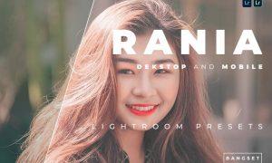 Rania Desktop and Mobile Lightroom Preset