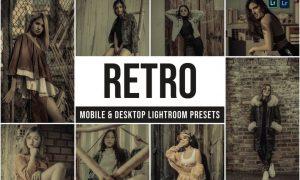 Retro Mobile and Desktop Lightroom Presets