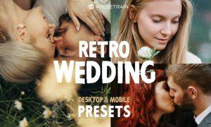 Retro Wedding Lightroom Presets