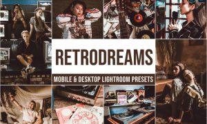Retrodreams Mobile and Desktop Lightroom Presets