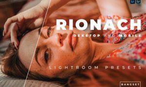 Rionach Desktop and Mobile Lightroom Preset