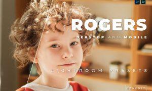 Rogers Desktop and Mobile Lightroom Preset