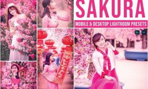 Sakura Mobile and Desktop Lightroom Presets