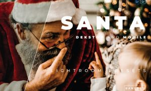 Santa Desktop and Mobile Lightroom Preset