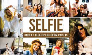 Selfie Mobile and Desktop Lightroom Presets