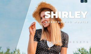 Shirley Desktop and Mobile Lightroom Preset