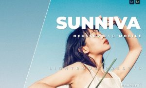 Sunniva Desktop and Mobile Lightroom Preset