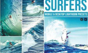 Surfers Mobile and Desktop Lightroom Presets