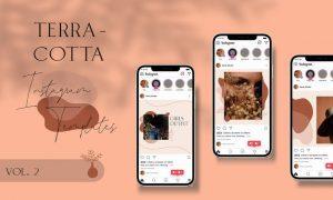 Terracotta Instagram Templates Vol.2 8GSM5Y7