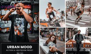 Urban Mood Photoshop Action & Lightrom Presets