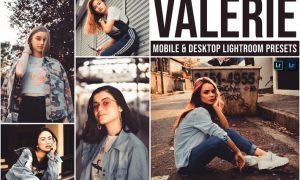 Valerie Mobile and Desktop Lightroom Presets