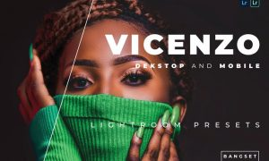 Vicenzo Desktop and Mobile Lightroom Preset