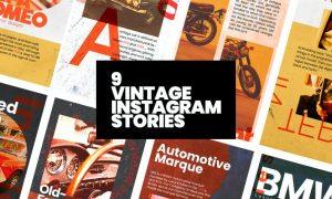 Vintage Instagram Stories