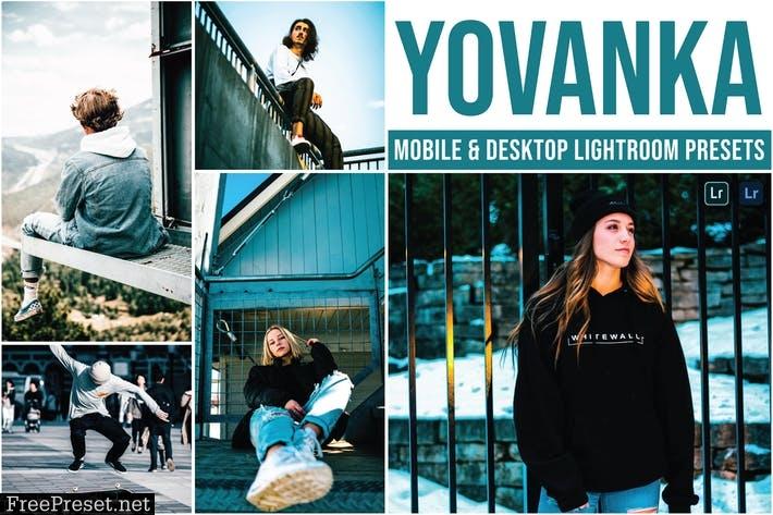 Yovanka Mobile and Desktop Lightroom Presets
