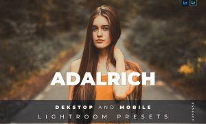 Adalrich Desktop and Mobile Lightroom Preset